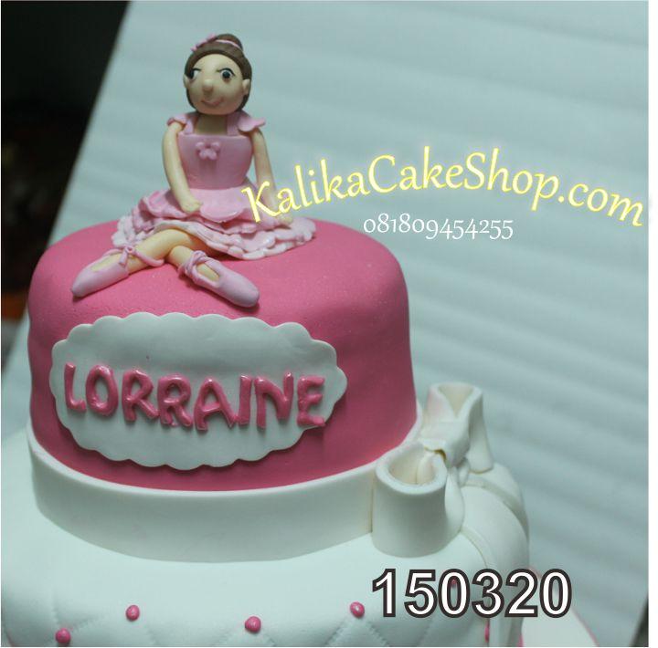 Kue Ulang Tahun Balerina Lorainne 2
