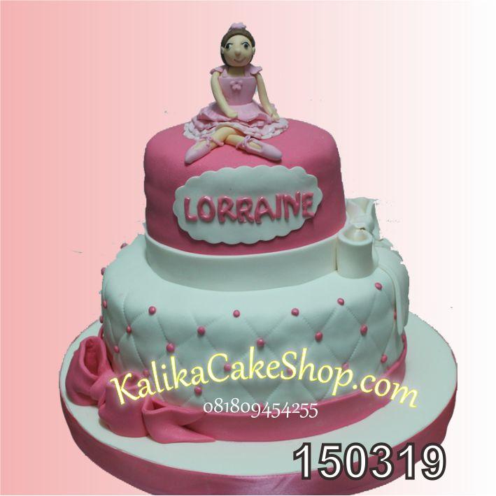 Kue Ulang Tahun Balerina Lorainne