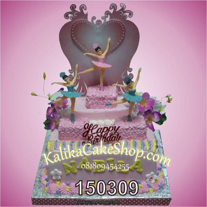 Kue Ulang Tahun Balet Nabila