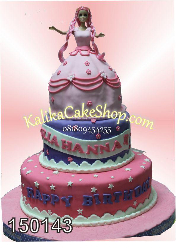 Kue Ulang Tahun Barbie Aulia Hanna