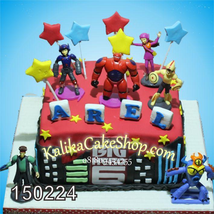 Kue Ulang Tahun Big Hero AREL