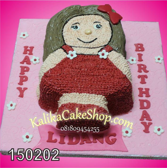 Kue Ulang Tahun Boneka Lidang
