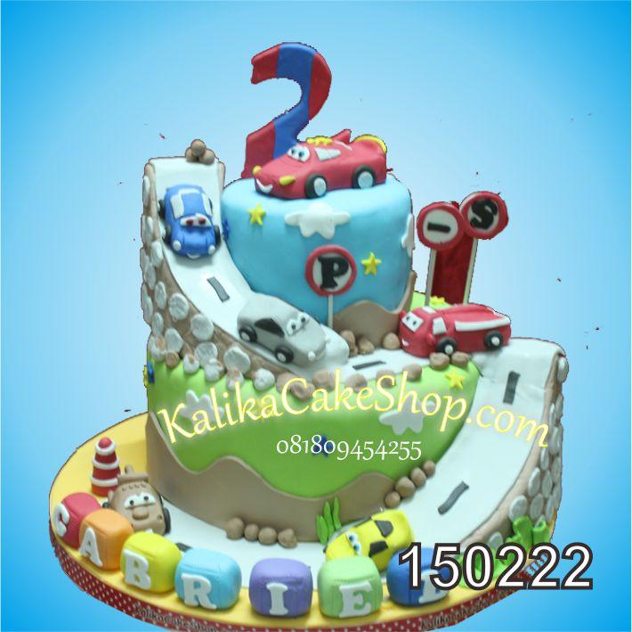 Kue Ulang Tahun Cars Gabriel