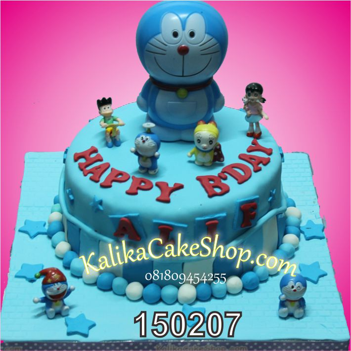 Kue Ulang Tahun Doraemon Alif