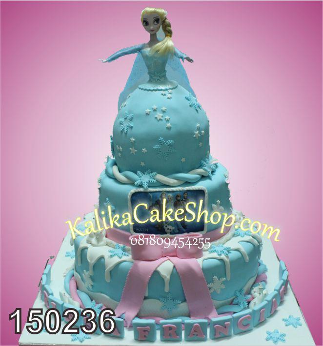 Kue Ulang Tahun Elsa # susun