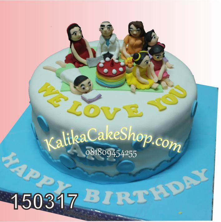 Kue Ulang Tahun Family Aki