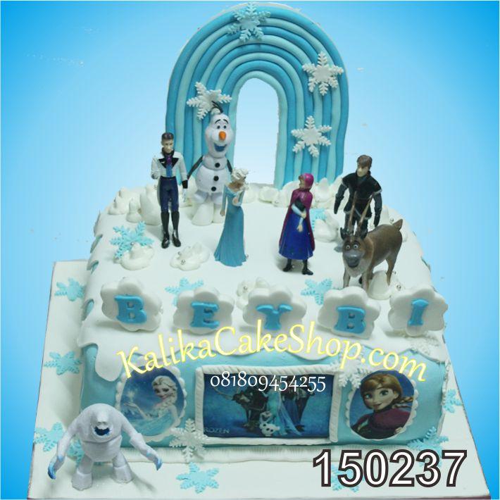 Kue Ulang Tahun Frozen 30cm Beybi