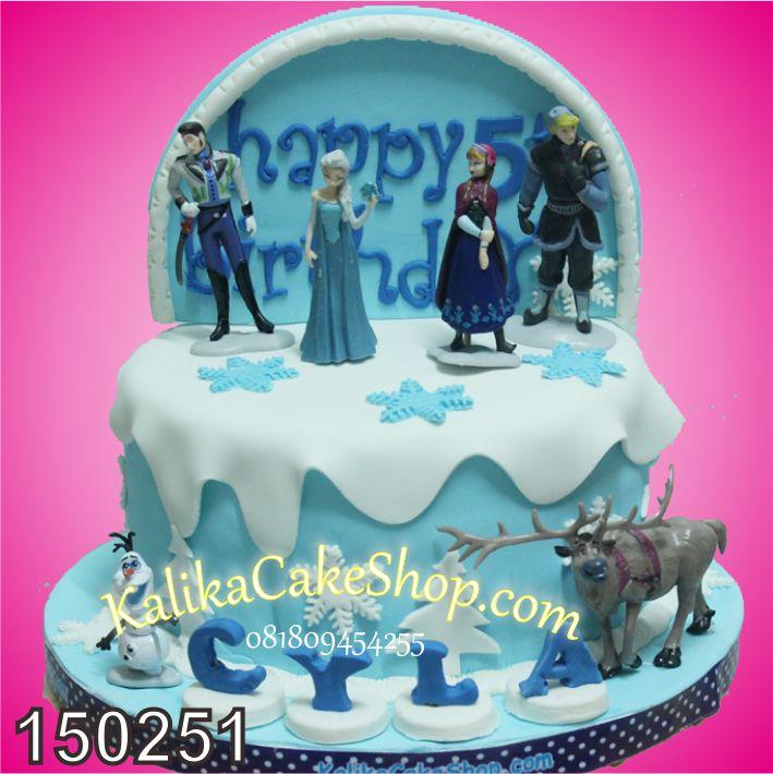 Kue Ulang Tahun Frozen Cyla