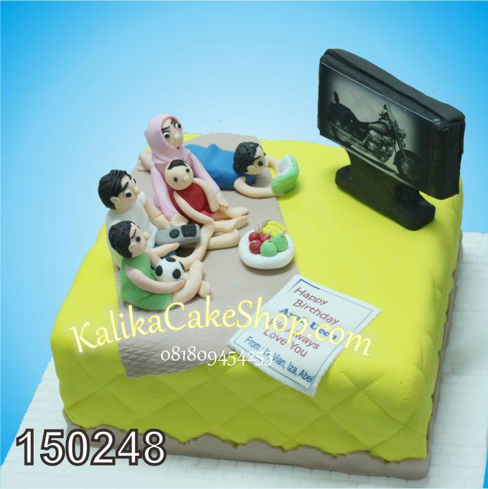 Kue Ulang Tahun Happy Family