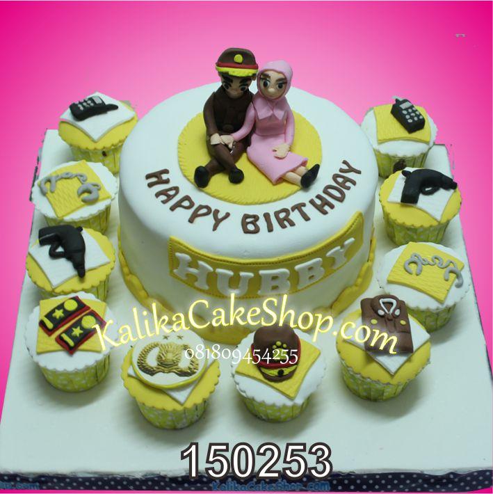 Kue Ulang Tahun Hubby Polisi