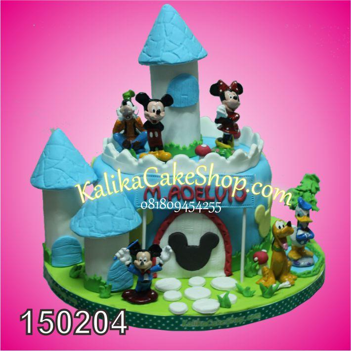Kue Ulang Tahun Istana Mickey Mouse