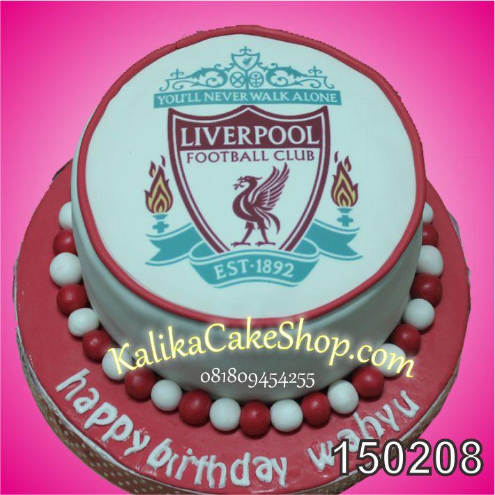 Kue Ulang Tahun Liverpool Wahyu
