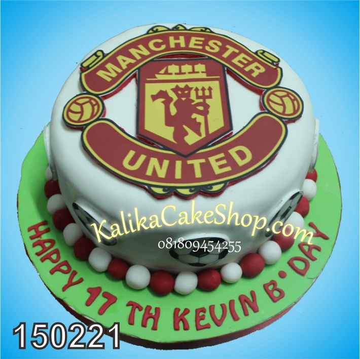 Kue Ulang Tahun Manchester United Kevin