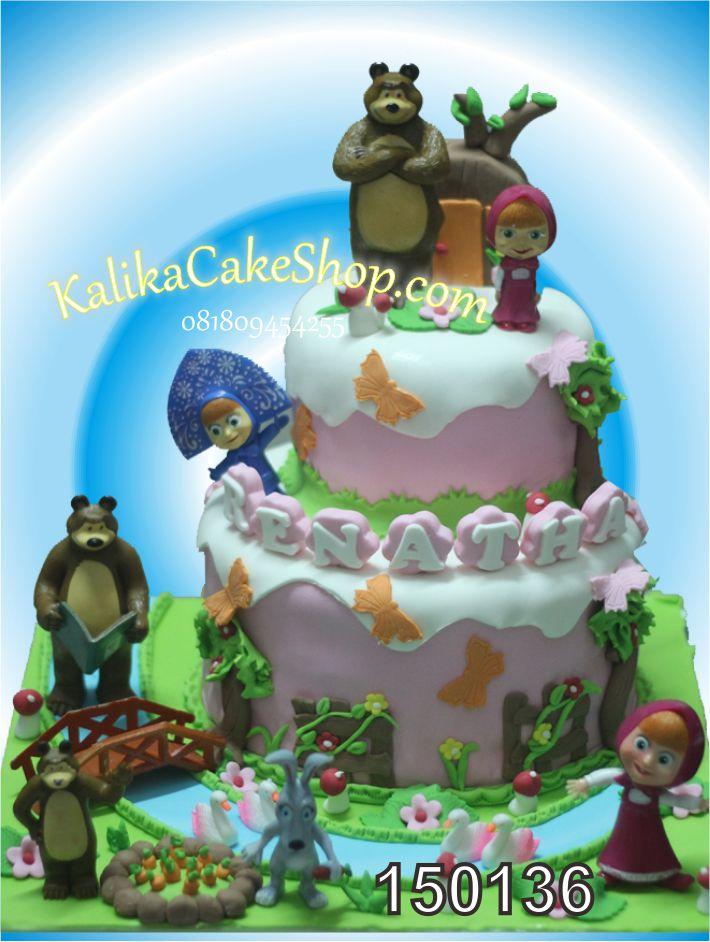 Kue Ulang Tahun Masha Renatha