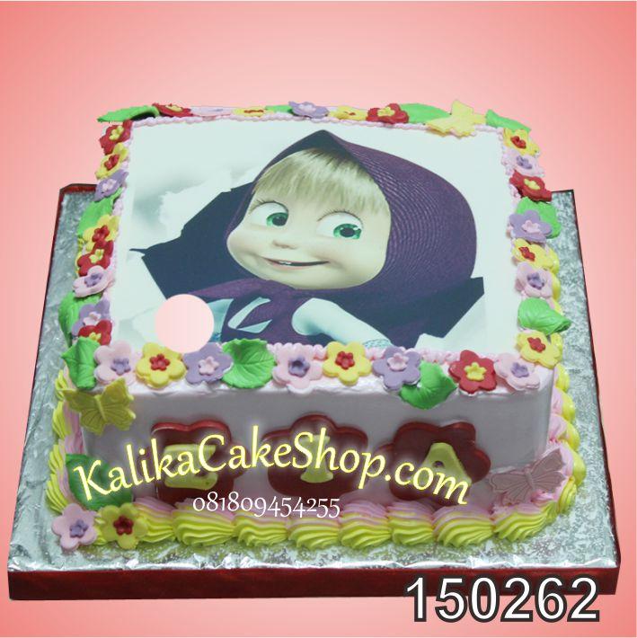 Kue Ulang Tahun Masha