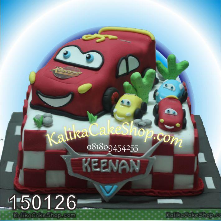 Kue Ulang Tahun Mc Queen Keenan