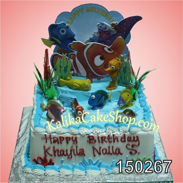 Kue Ulang Tahun Nemo