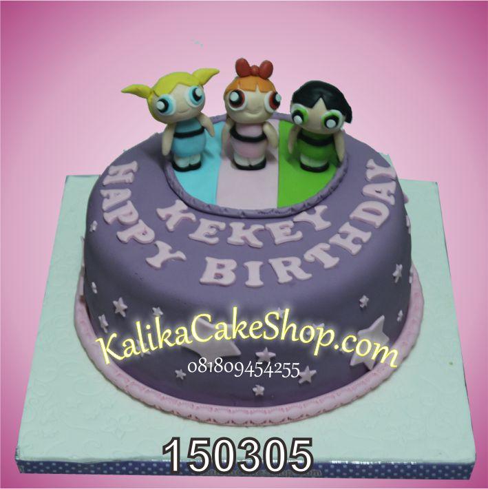 Kue Ulang Tahun Power Puff Girl Kekey