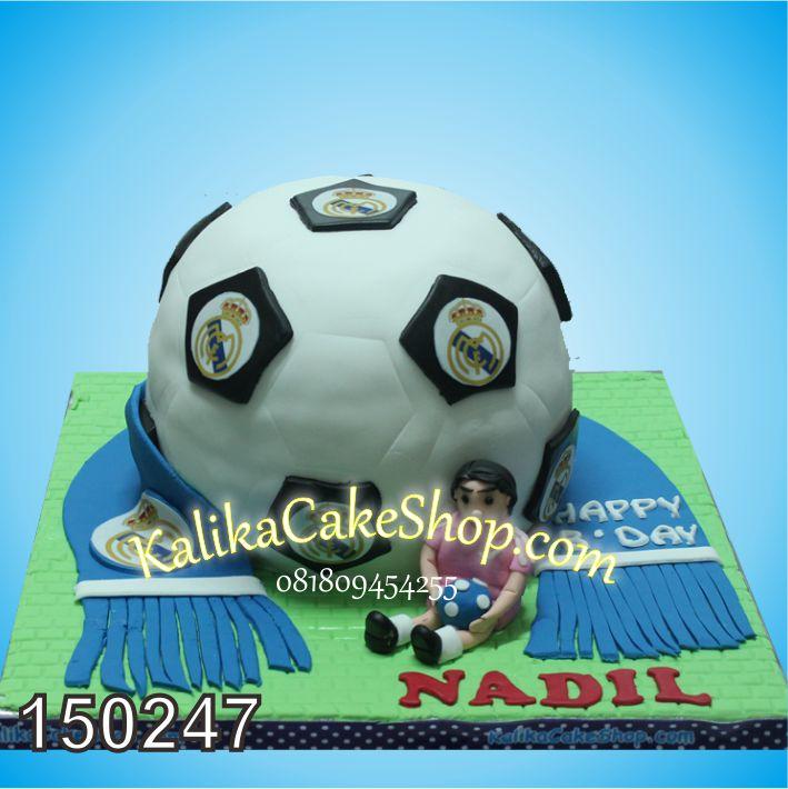 Kue Ulang Tahun Real Madrid Nabil