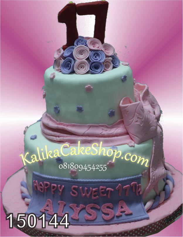 Kue Ulang Tahun Seet 17 Alyssa