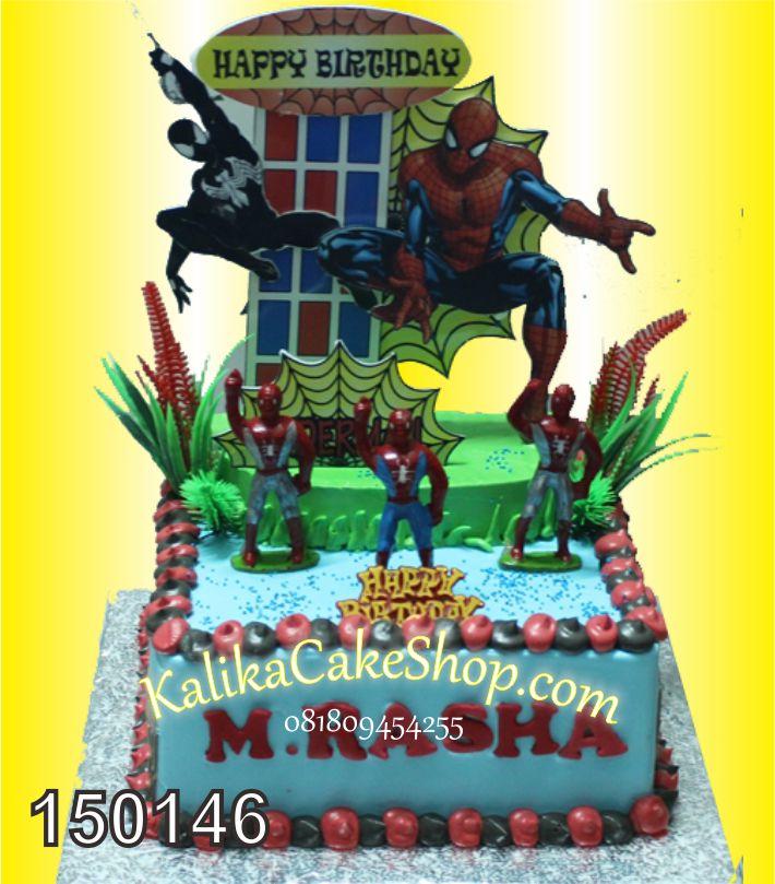 Kue Ulang Tahun Spiderman Rasya