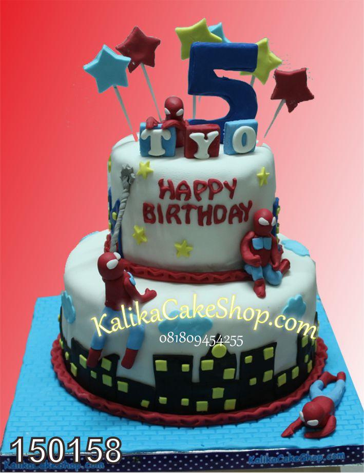 Kue Ulang Tahun Spiderman Tyo