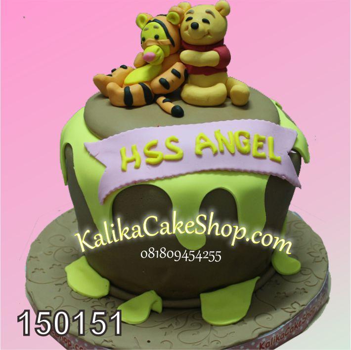 Kue Ulang Tahun Winnie The Pooh Baby