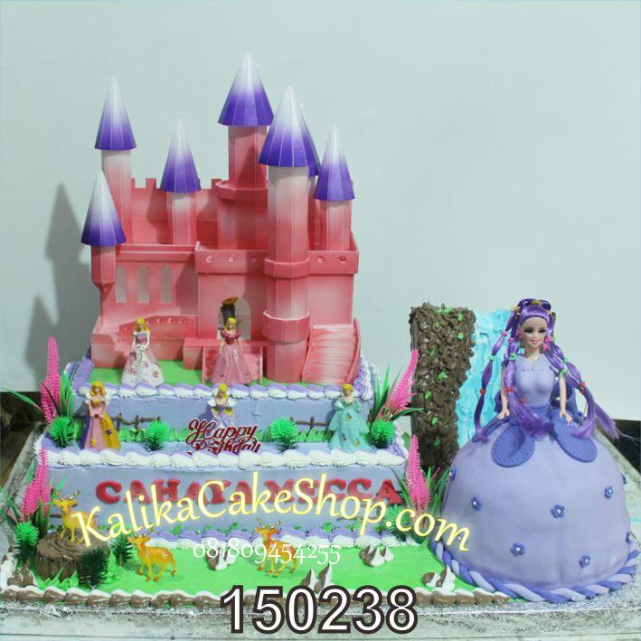 Kue Ulang Tahun istana purple