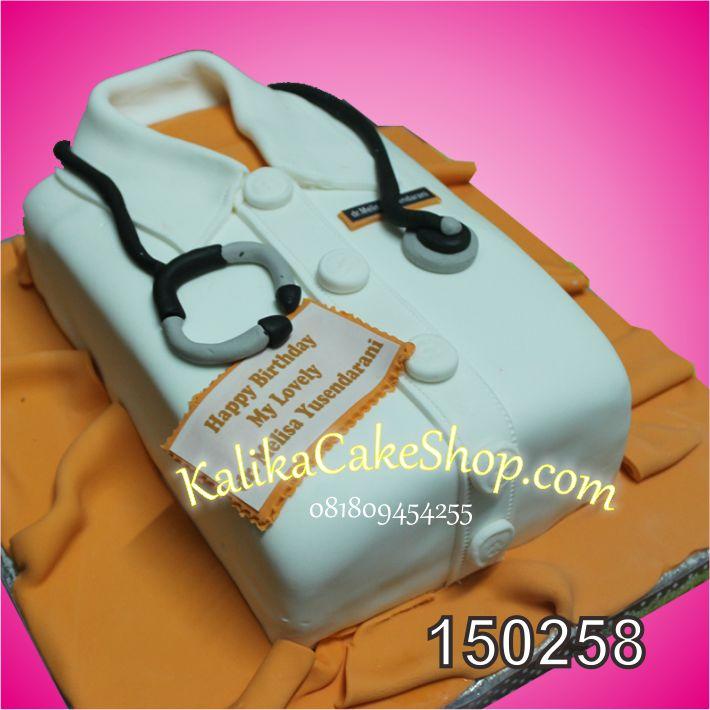 Kue Ulang Tahun seragam dr melisa