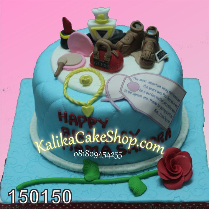Kue Ulang tahun Fashion sandra