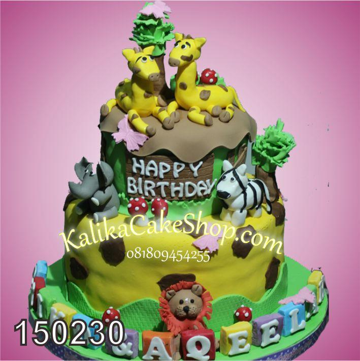 Kue Ulang tahun Junggle Aqeela