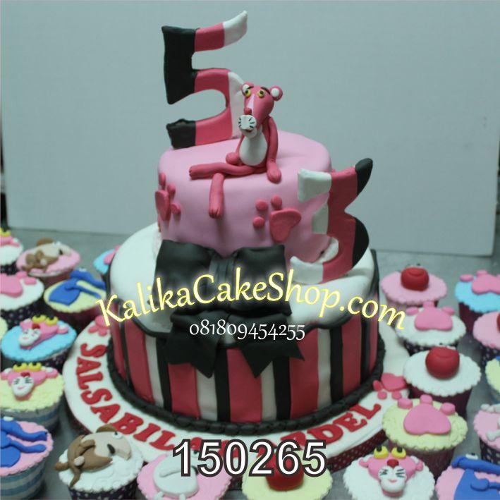 Kue ulang tahun Pink Panther