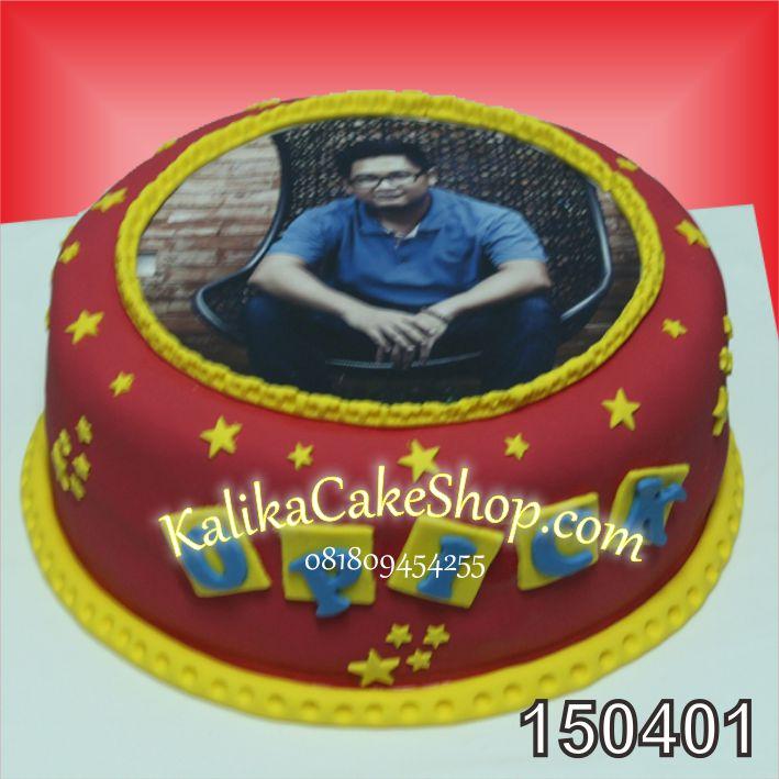 Kue Ulang Tahun Edible Photo ondant