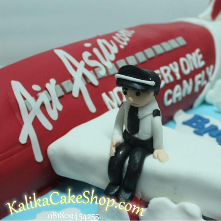 Kue Ulang Tahun Pesawat air Asia 2