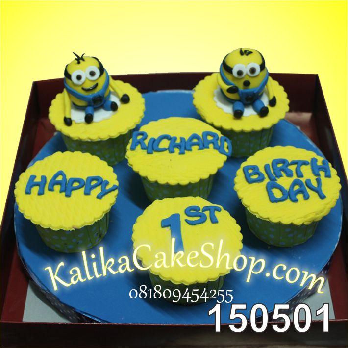 Cup Cake Set Minion