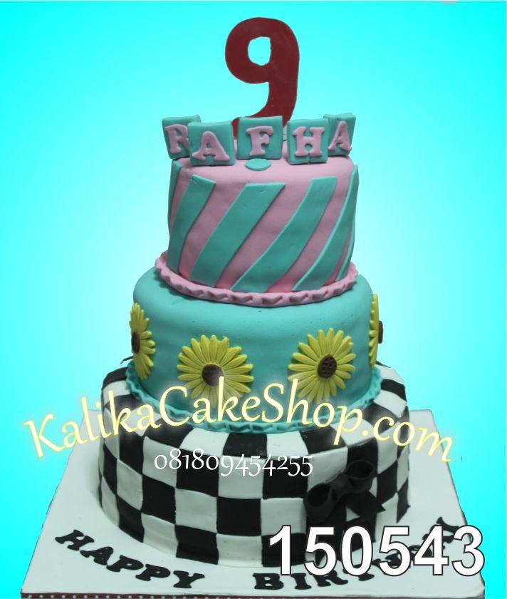 Kue Ulang Tahun 3 susun Fafha