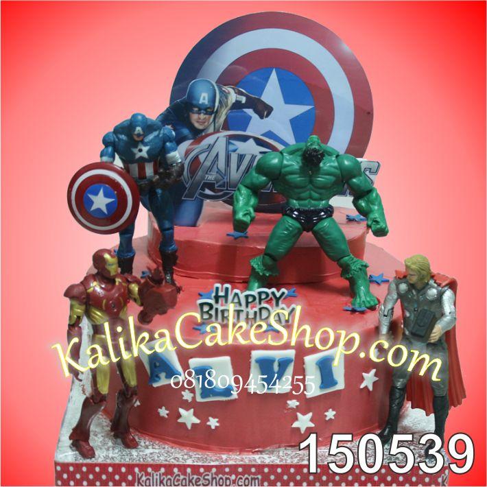 Kue Ulang Tahun Avenger ALVi