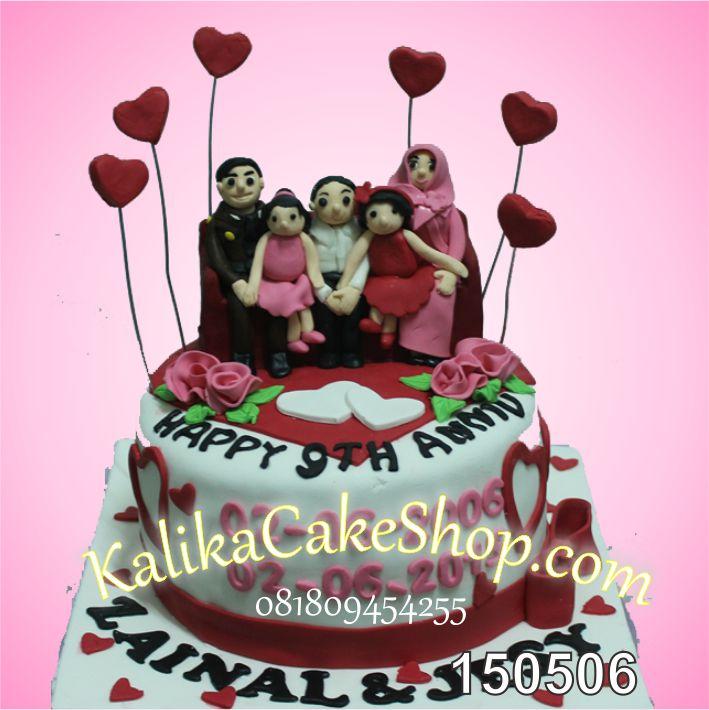 Kue Ulang Tahun Family Zainal & Jessy