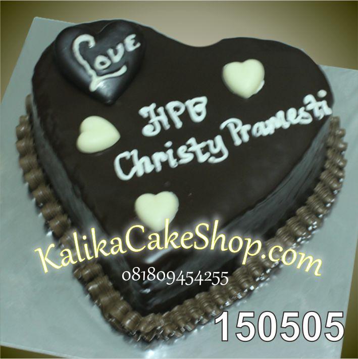 Kue Ulang Tahun Love Chooclate