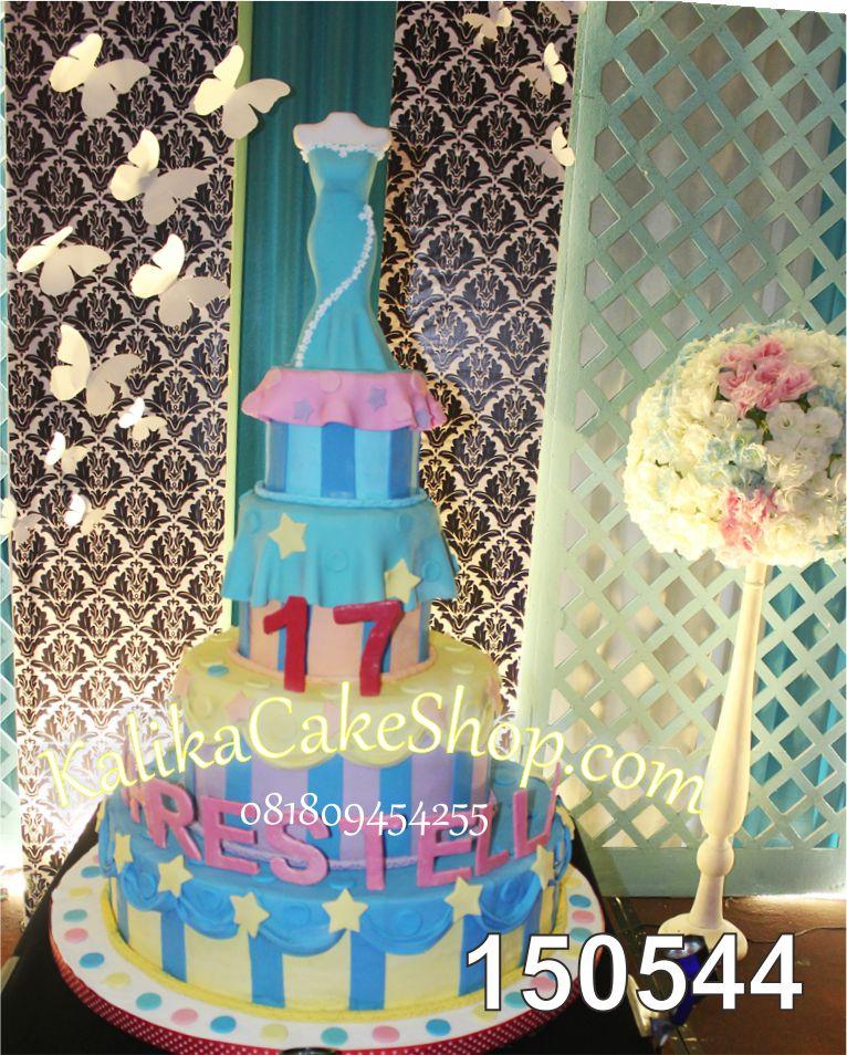 Kue Ulang Tahun Sweet Chrestella