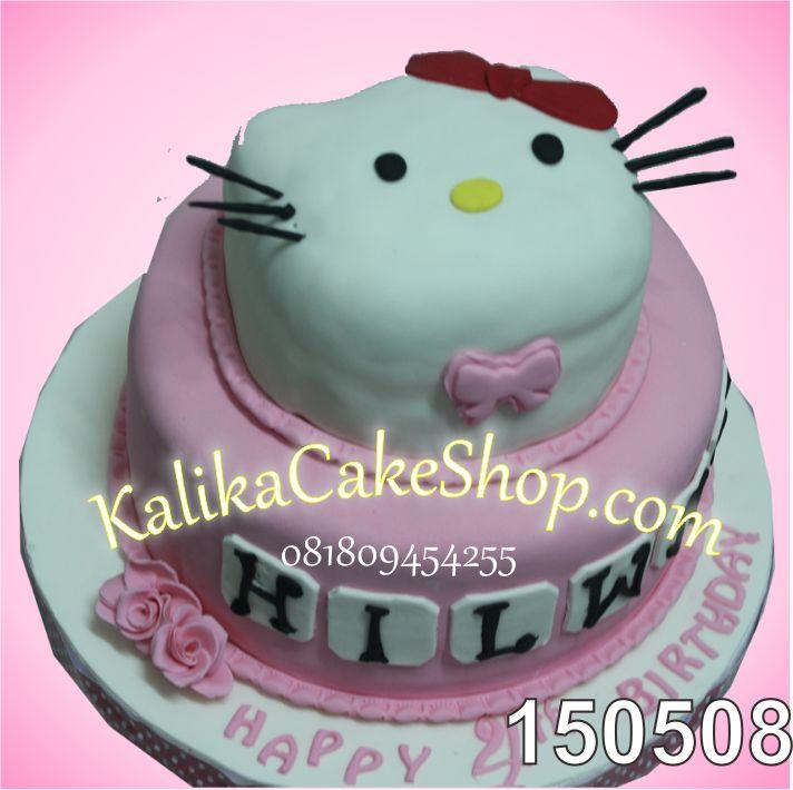 Kue Ulang tahun Hello kitty Hilwa