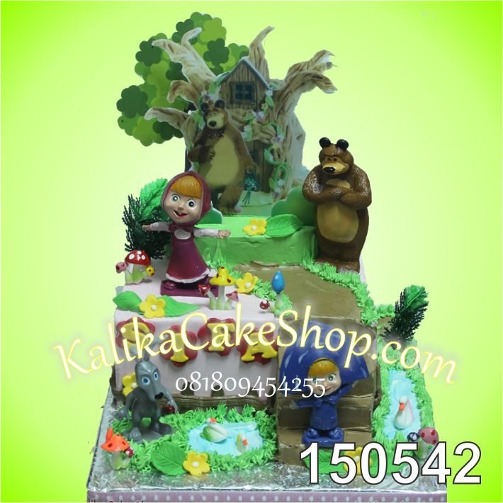 Kue Ulang tahun Marsha Sifa