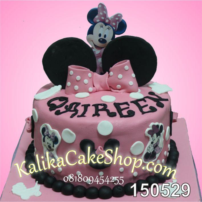 Kue Ulang tahun Minnie Qaireen