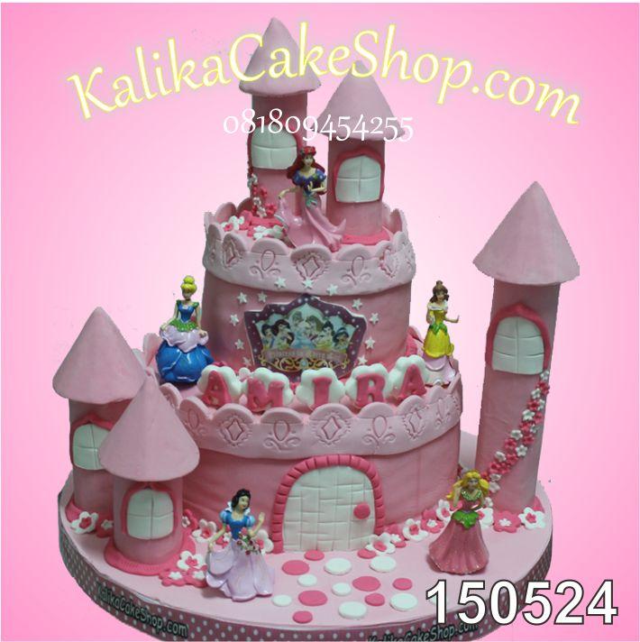Kue Ulang tahun Princess AMIRA