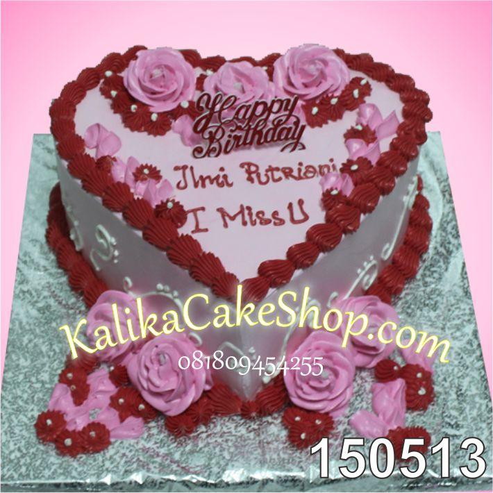 Kue ulang Tahun Hati I miss U