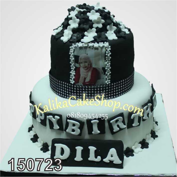 Kue Ulang Tahun 2 susun Dila