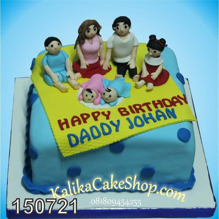 Kue Ulang Tahun Family Johan
