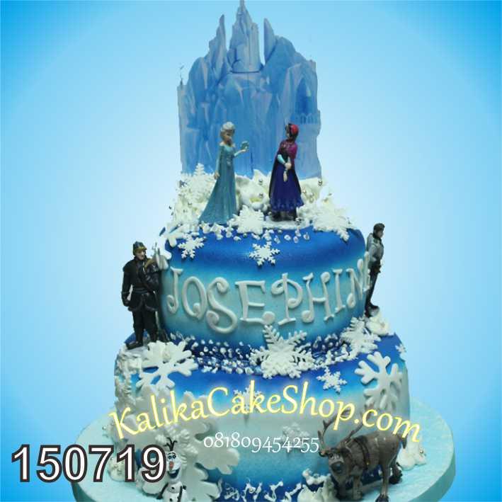 Kue Ulang Tahun Frozen Josephine