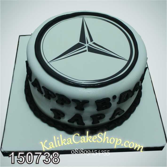 Kue Ulang Tahun Logo Mercedez