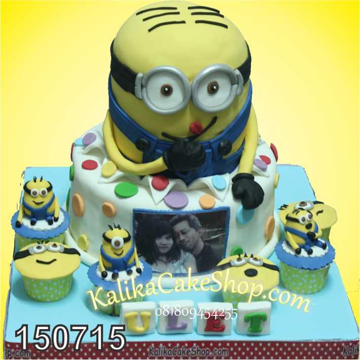Kue Ulang Tahun Minion Ulet